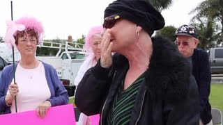 Parade Held for Breast Cancer Patient as She Completes Chemotherapy