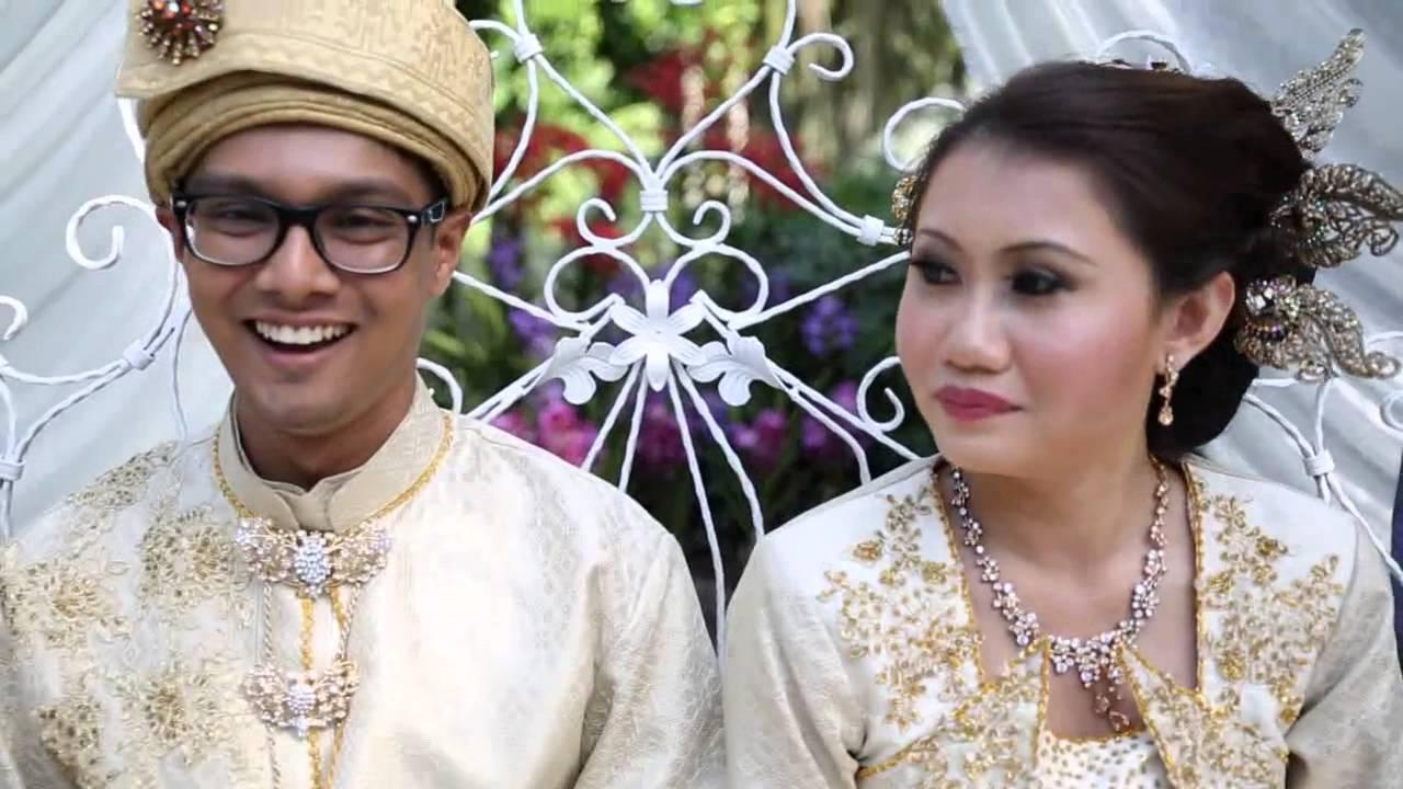 Shan Izzah S Garden Wedding At Burkill Hall Youtube