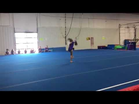 Lindsey AAU Level 4 - floor routine
