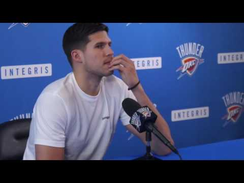 4.26.17 Thunder Exit Interviews with Doug McDermott