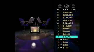 JemFan777's 4th game of Who Wants to be a Millionaire: 3rd Edition for the PS!