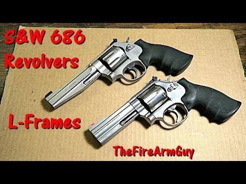 S&W 686 L-Frame Revolvers - Review & Shooting - TheFireArmGuy - YouTube