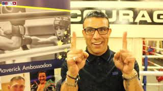 ROBIN REID FORMER WORLD CHAMP ON THE POSITIVES BOXING GIVES
