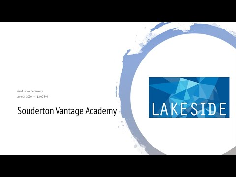 Graduation Ceremony 2020 - Souderton Vantage Academy
