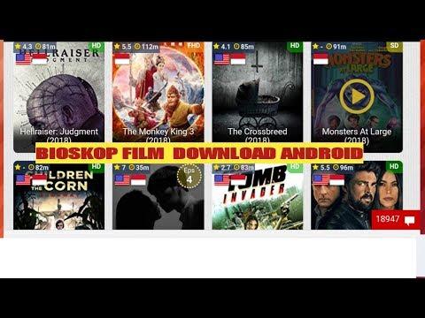 Cara Download film bioskop dengan  android