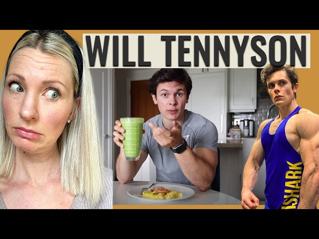 Dietitian Reviews Will Tennyson's Cutting Diet (WEIGHING OUT CUCUMBER? REALLY?!)