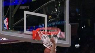 Kobe bryant posterizes paul millsap