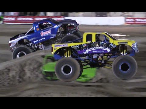 Monster Truck Racing Antelope Valley Fair 2016