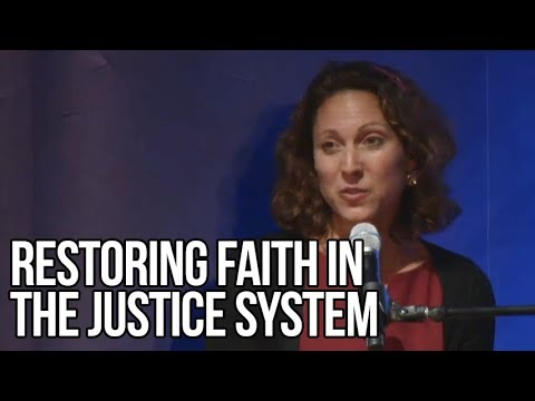 Restoring Faith in the Justice System | Emily Bazelon