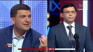 Мураев: На Донбассе у большинства членов нашей партии остался дом. Поэтому мир для нас - личное дело
