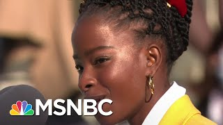 National Youth Poet Laureate Amanda Gorman Recites Poem At Biden Inauguration | MSNBC