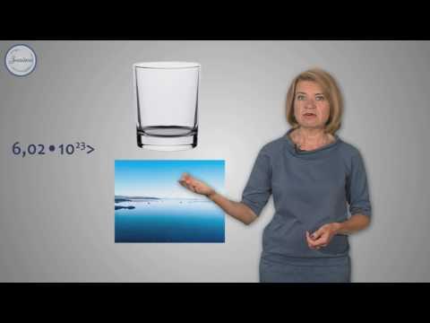 Видеоурок по химии 8 класс моль молярная масса