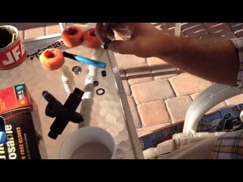 How to easily clean skateboard bearings.