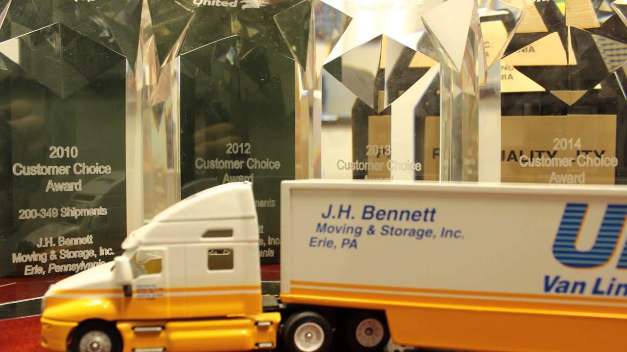Casey Wells Congratulates J H Bennett Moving Amp Storage