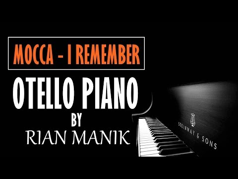 Mocca - I Remember Piano Cover Tutorial + Lyrics (cc) By Otello Piano