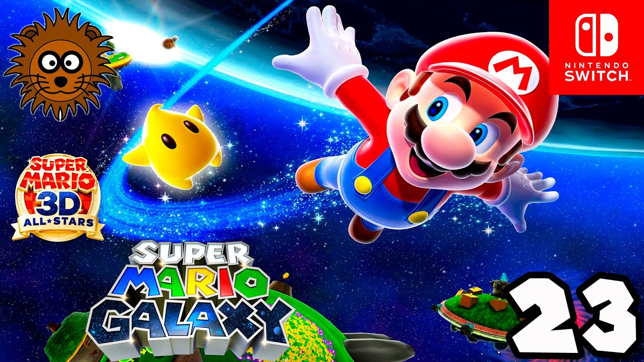 Super Mario 3D All Stars: Super Mario Galaxy en Español #23 - Juegos de Mario Bros - Nintendo Switch