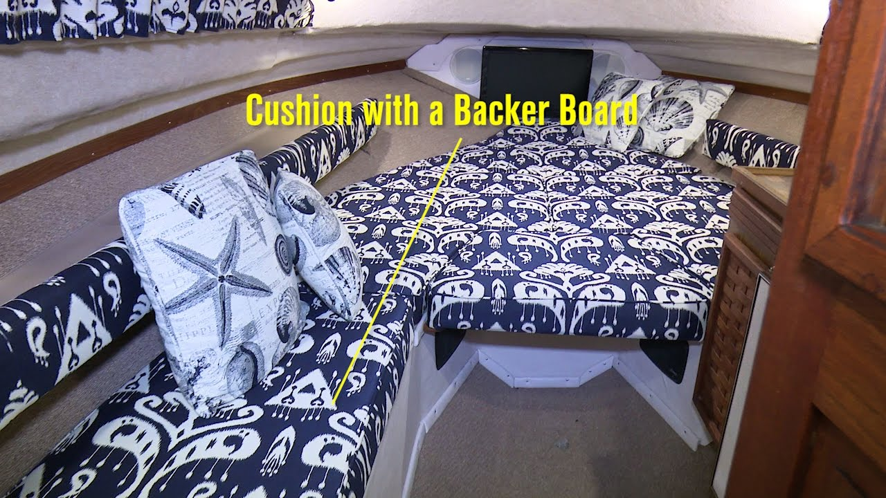 How To Make A Cushion With A Backer Board