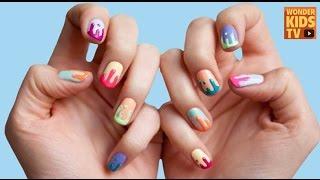예쁜 손톱 만들기. 네일아트 -엄마랑 같이 네일아트를 해봐요!  nail art