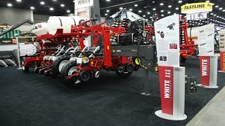 WHITE 9800VE Planter Series Intro at the 2016 National Farm Machinery Show