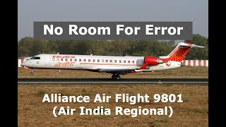 The Plane That Was Near It's Limits   Alliance Air Flight 9801