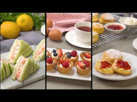 Perfect Recipes For Afternoon Tea Party!
