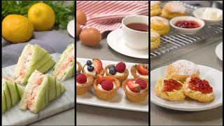 Perfect Recipes For Afternoon Tea Party! thumbnail