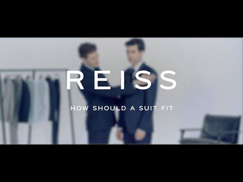 How Should a Suit Fit - The Video Style Guide - REISS