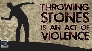 "HonestReporting Video: Throwing Stones is Not ""Non-Violent"""