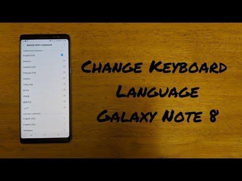 How to add emoji keyboard on samsung note 8