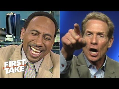 Stephen A. Smith laughs off Tiago Splitter's impact (2012) | First Take | ESPN Archive