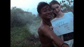Heboh...Bule Cantik Menikahi Pria Indonesia Berwajah Biasa Asal SUMBAR