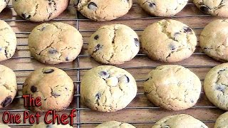 Double Chocolate Chip Cookies - Recipe