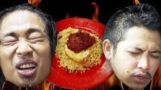 Indomie Abang Adek 300 Cabe VS Praz & Muslim! | Mati Penasaran #1