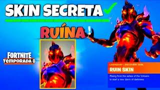SECRET SKIN RUIN-Season 8-FORTNITE BATTLE ROYALE (CONFIRMED)