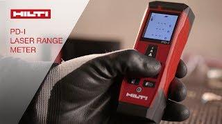 INTRODUCING the Hilti PD-I indoor laser range meter