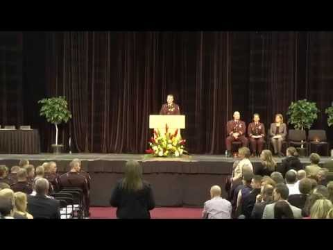 Minnesota State Patrol Graduation Ceremony -- May 16, 2014