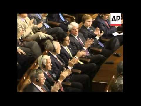 WRAP Iraqi PM Al-Maliki's speech to Congress, interrupted by heckler