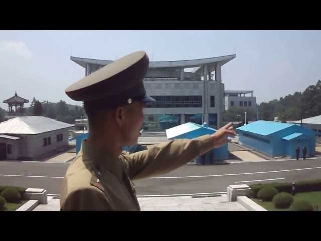North Korea DMZ Kuzey Kore Guney Kore siniri Travel Video