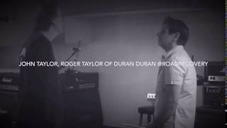 Duran Duran - Midway Through Paper Gods Tour John + Roger Record for Road Recovery charity song