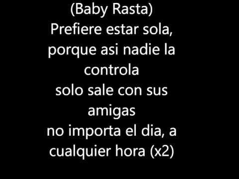 Baby Rasta y Gringo Feat Nengo FlowPrefiere Estar Sola LETRA