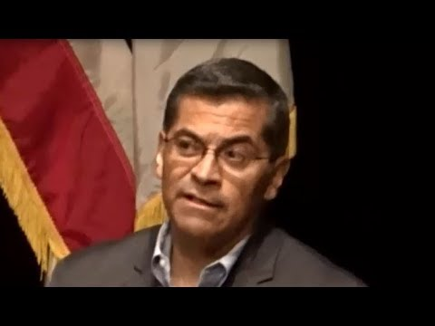 CALIFORNIA ATTORNEY GENERAL XAVIER BECERRA HOLDS RAUCOUS TOWN HALL WITH TRUMP SUPPORTERS