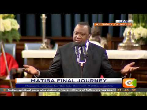I have lost a father, friend and a mentor, President Kenyatta eulogises Matiba
