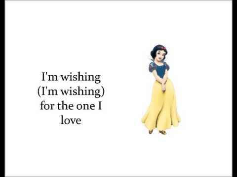 Snow White -  I'm wishing (Lyrics)