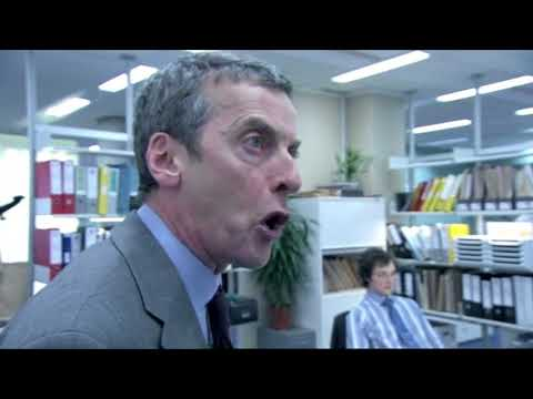 Malcolm Tucker an Angry Man