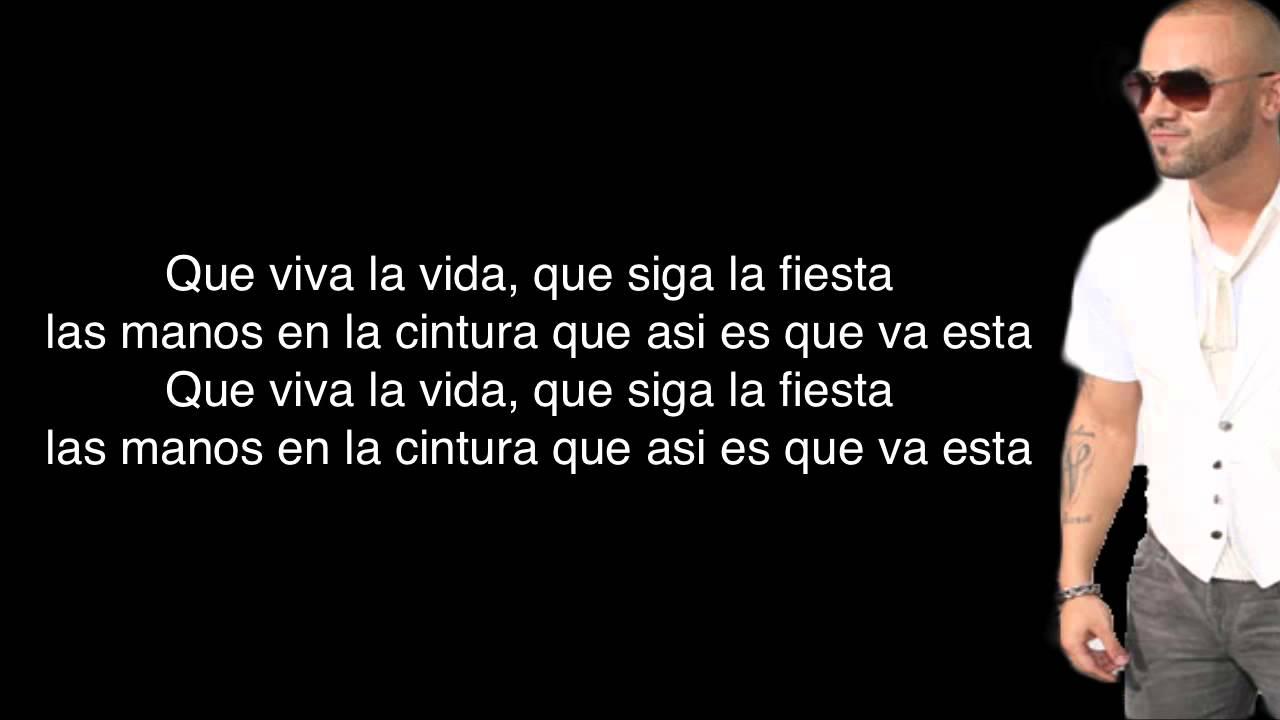 Wisin  Que Viva La Vida  Letra  YouTube