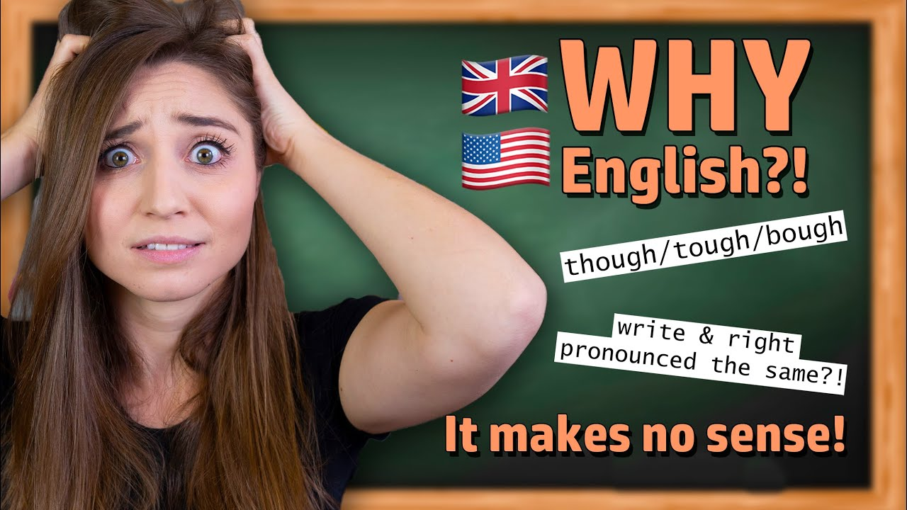 The MOST FRUSTRATING part about English! 🇬🇧😩 | German Girl in America