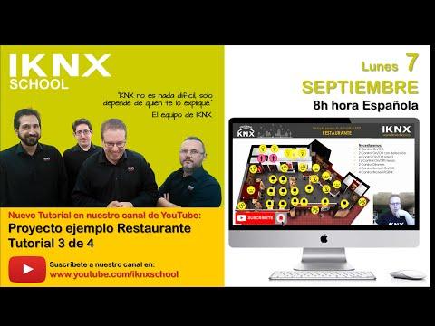 TIPS KNX Nº134. Proyecto ejemplo KNX de un Restaurante. Tutorial 3 de 4.