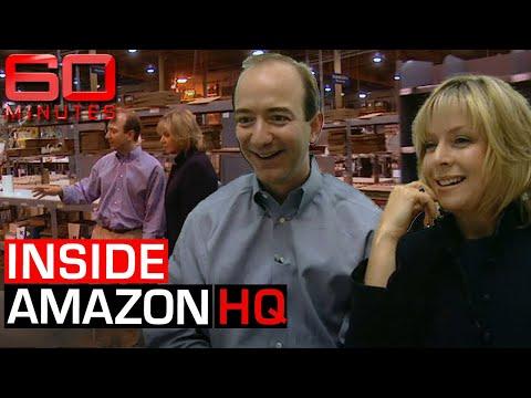Jeff Bezos takes reporter on exclusive tour of early Amazon HQ   60 Minutes Australia