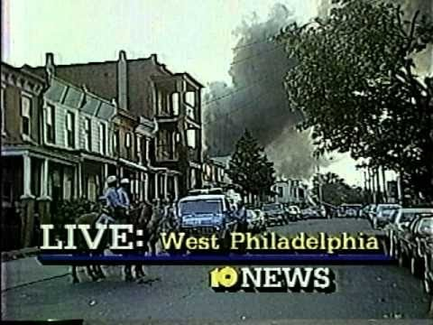 Police Bombing on MOVE in West Philly 1985
