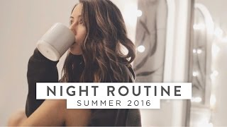 Repeat youtube video My REAL Summer Night Routine! 2016
